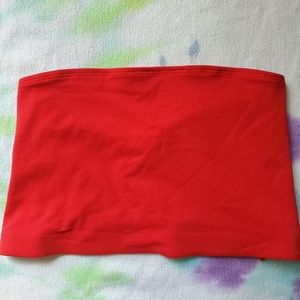 H&M Red Tube Top